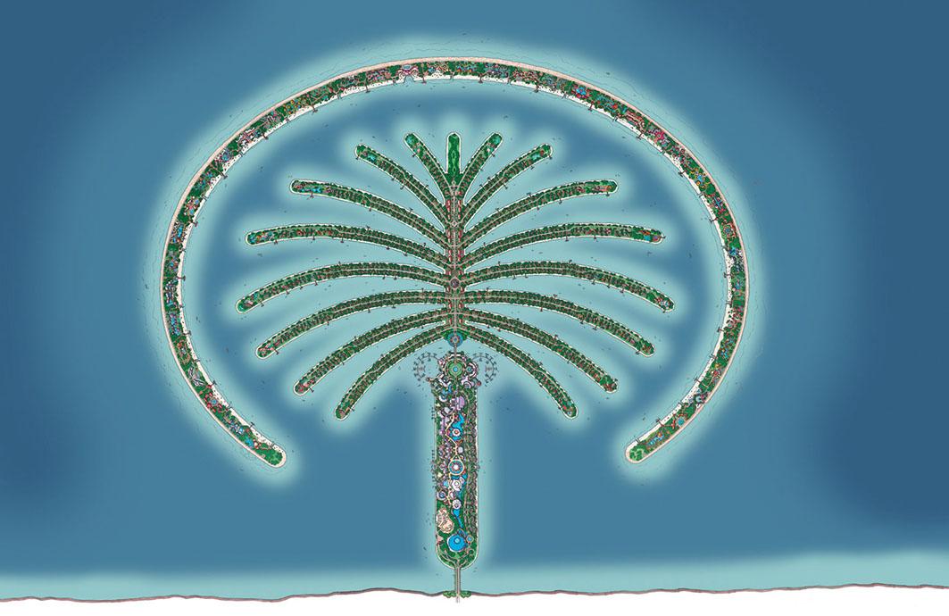 The Palm Jumeirah Master Plan